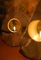 Svetlo z kameňa - variant 4